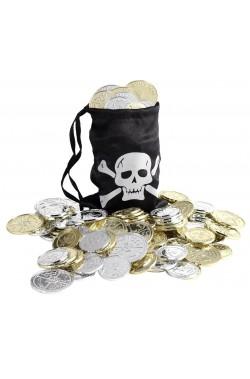 Borsetta con monete