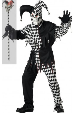 Costume clown o giullare killer o assassino