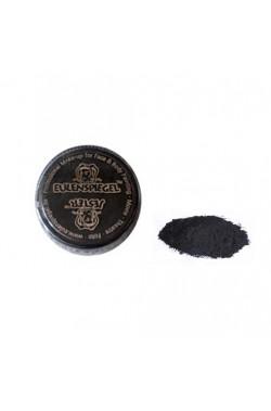 Trucco teatrale cipria nera cenere carbonite 5g