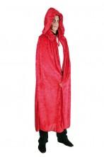 Mantello per vampiri lusso rosso lunghezza 182 cm