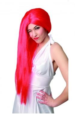 Parrucca lunga rossa per Sally