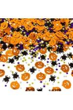 Coriandoli o confetti metallizzati arredo tavola o vetrina Halloween