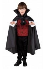 Mantello vampiro nero SOLO mantello 75 cm