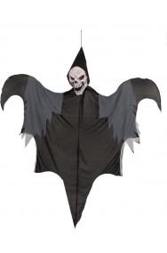 Allestimento Halloween Teschio morte volante