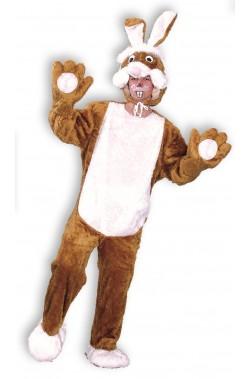 Costume unisex coniglio marrone