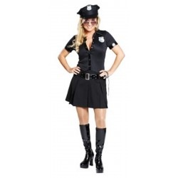 Costume donna Poliziotta