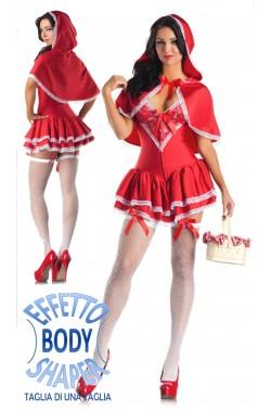 Costume Body Shaper Cappuccetto Rosso Sexy
