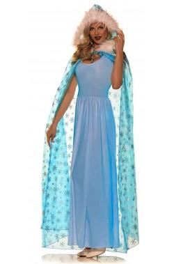 Mantello Frozen Elsa Regina delle Nevi