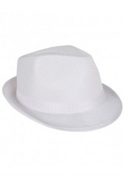 Cappello gangster bianco