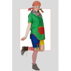 Costume carnevale Pippi Calze Lunghe adulta