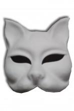 Maschera Veneziana originale in cartapesta Gatto