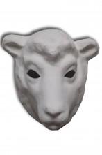Maschera Veneziana originale in cartapesta Pecora