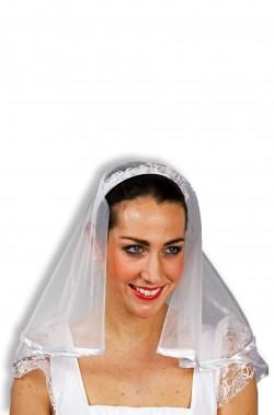 Coroncina con velo da sposa