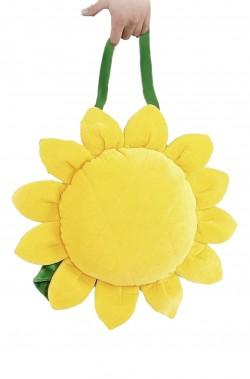 borsa o borsetta fiore con girasole