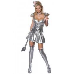 Costume carnevale adulta omino di latta  De Il Mago Di Oz