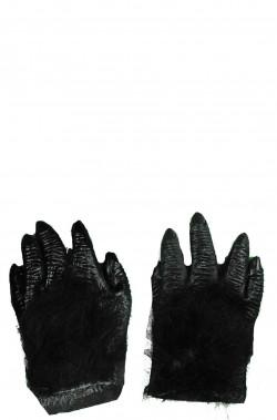 Guanti gorilla scimmia scimpanzè neri