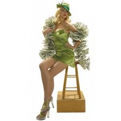 Costume donna giocatrice d'azzardo