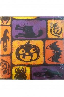 Tovaglioli party carta Halloween 33x33cm 6pezzi