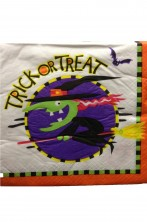 Halloween Party Trick or Treat tovaglioli di carta 33x33cm