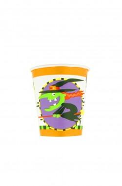 Bicchieri di carta party Halloween ml260 15pz
