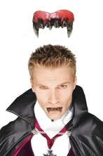 Dentiera rigida vampiro solo parte sopra + di 14 anni con bicomponente