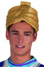 Cappello turbante sultano re magio incantatore di serpenti