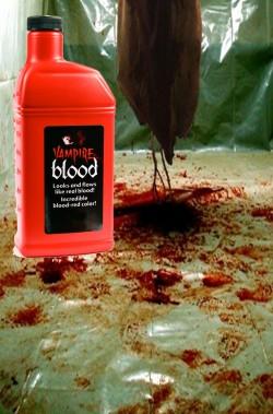 FX Sangue finto teatrale cinematografico grande formato 472cc