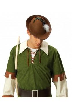 Cappello elfo o robin hood o tirolese