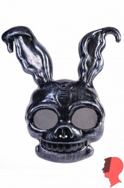 Maschera coniglio nero Frank The Bunny
