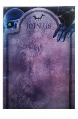 Biglietti di invito alla festa di Halloween stampabili
