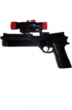 Pistola semiautomatica giocattolo grande cm 29x15 con mirino