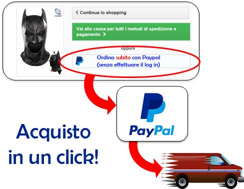 17d1bf061b7a acquista in un click su carnivalhalloween.com con Paypal