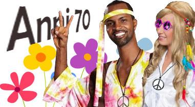 Costumi di Carnevale a tema Anni 70
