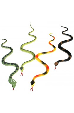 Serpente in plastica cm 30