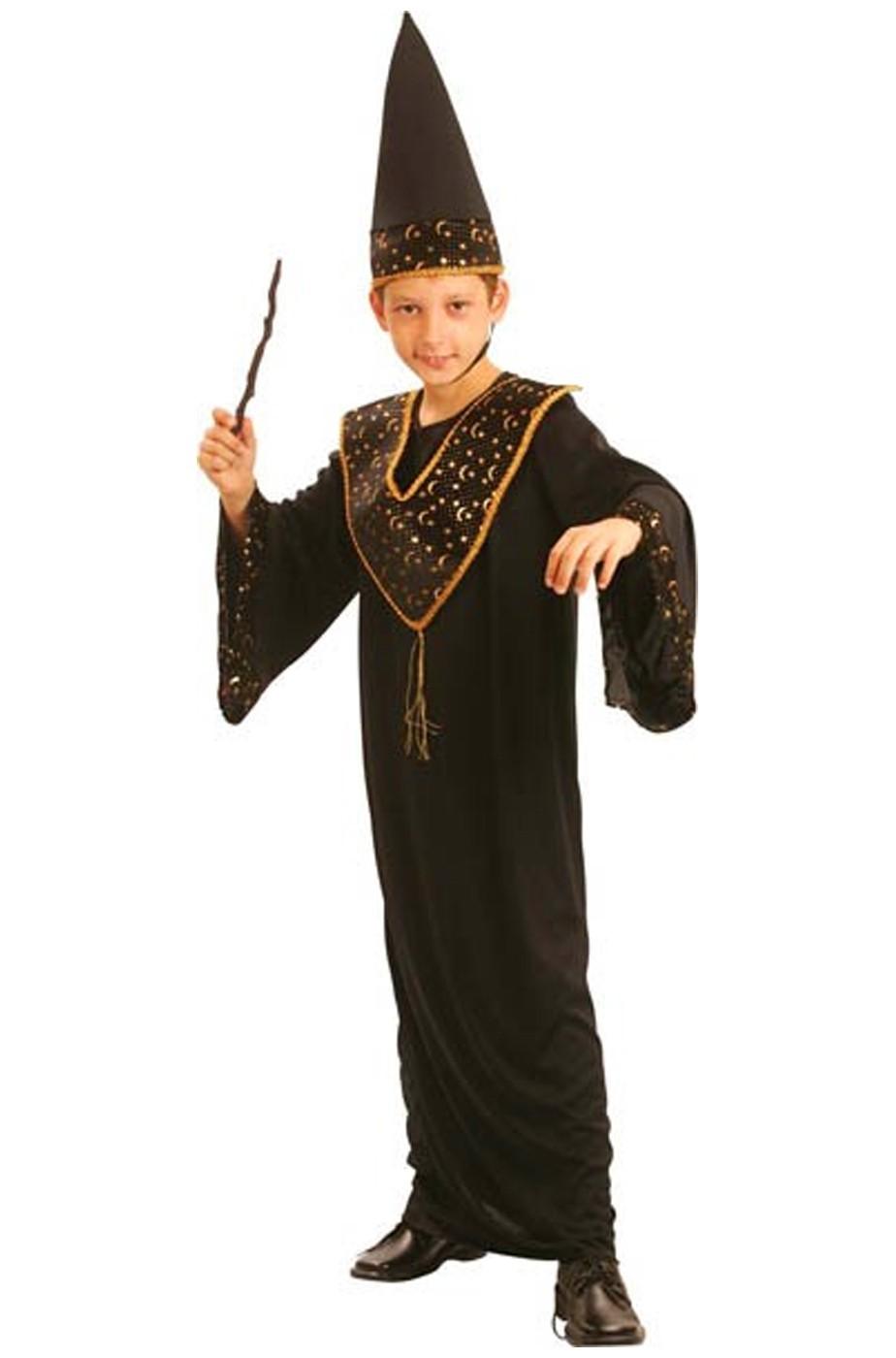 Costume bambino mago stregone molto bello 208b5ebad846