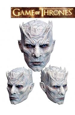 Trono di Spade Maschera Re della Notte dei non morti in latex tutta testa