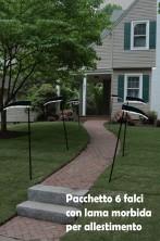 Pacchetto decorazione da giardino 6 falci della morte