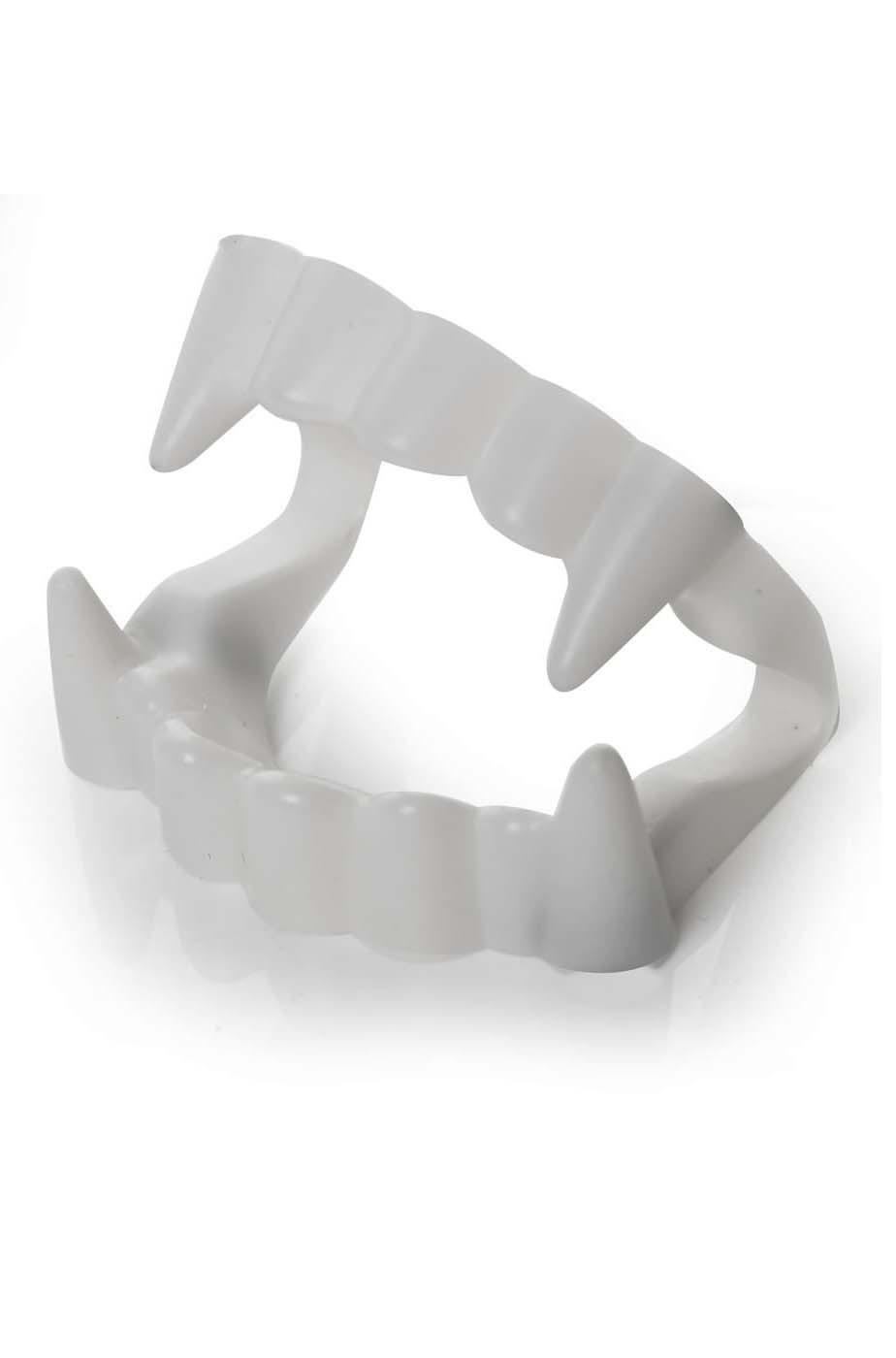 Dentiera canini vampiro bambino economici in plastica