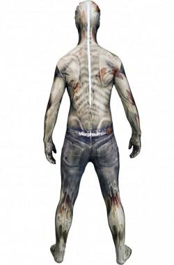 Costume Morphsuit Horror The Zombie 2nd skin seconda pelle M