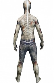 Costume Morphsuit Horror The Zombie 2nd skin seconda pelle M