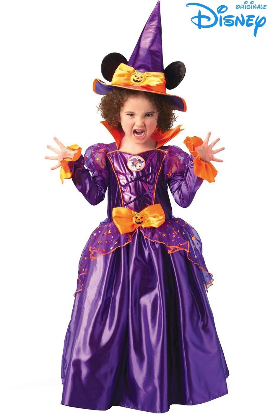Costume Disney carnevale Bambina Minnie Mouse