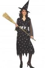 Costume Strega della notte classica con cappello incluso