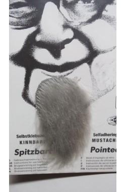 Trucco: Barba finta pizzetto a mosca grigia Pointed