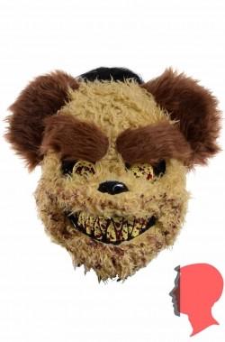 Maschera orso assassino SOLO frontale con elastico