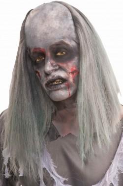 Parrucca uomo lunga zombie con pelata