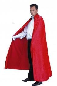 Mantello Rosso adulto senza cappuccio