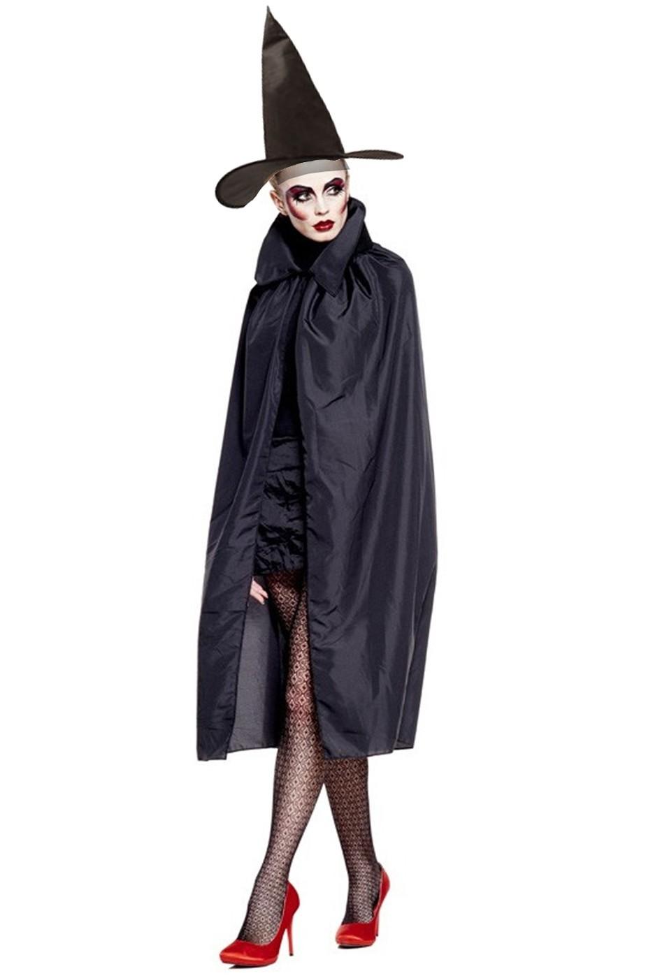 Set Mantello e Cappello da strega adulta