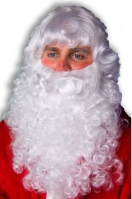 Set Barba Baffo e Parrucca Babbo Natale
