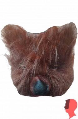Maschera da orso pelosissima