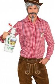 Camicia uomo da tirolese o da cowboy